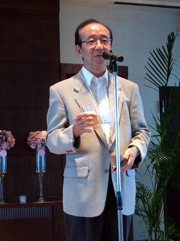 長崎先生乾杯の音頭