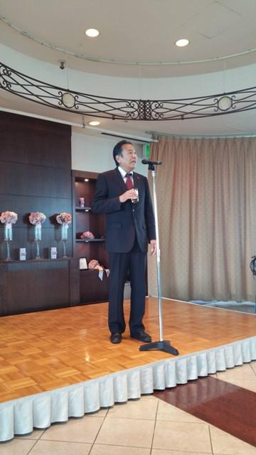 野村理事長の挨拶
